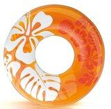 Tropisch Oranje Zwemband
