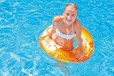 Tropisch Oranje Zwemband sfeerfoto