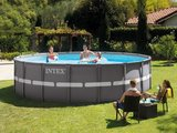 Intex Ultra Frame Pool Ø549 x 132 cm Incl. zandfilter Pomp