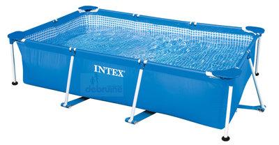 Intex Metalen Frame Zwembad 220x150x60 cm excl. pomp