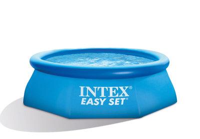 Intex Easy Set Zwembad Ø244x76 cm excl. pomp Nieuw