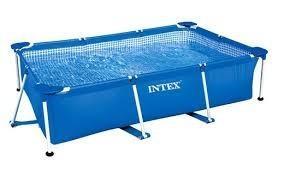 Intex metalen frame zwembad 260x160x65 cm - Leeg