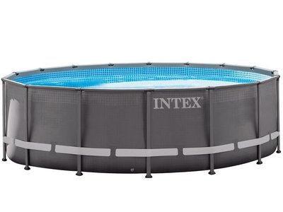 Intex Ultra Frame Pool Ø488 x 122 cm Incl. Zandfilter Pomp