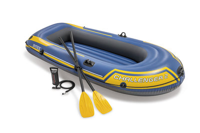 Intex Challenger 2 Opblaasboot Set Kopen
