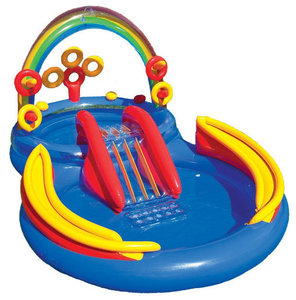 Intex Kinderbad Regenboog Play Center - Leeg