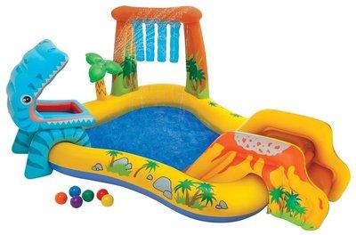 Intex Kinderbadje Dinosaurus Play Center - Leeg